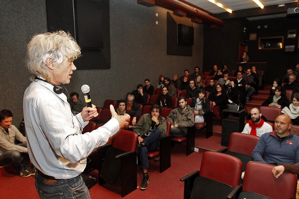 William Raban (UK) em palestra no Cine Esquema Novo Expandido 2013